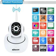 KKMOON 1080P 2MP PnP P2P IR Cut WiFi Wireless PTZ Network Camera IP Webcam 91CI