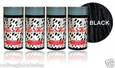 4 x HairSoReal, HSR Hair Loss Concealer, Cover Bald Spots Instantly ~ Black