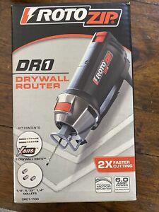 ROTOZIP DR1 6 amp Spiral Saw Drywall Router DR01-1100 NEW NIB FREE SHIP