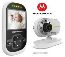 Motorola MBP26 Digital LCD COLOUR Video Sound BABY MONITOR CCTV Camera DECT VGC
