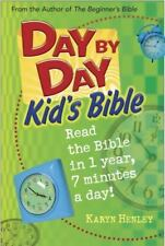 Day by Day Kid's Bible: The Bible for Young Readers (Tyndale Kids) by Henley, Ka