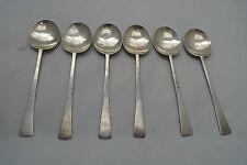 Art Deco Silver Teaspoons Thomas Bradbury & Sons Sheffield 1917 65g