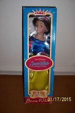"""Princess Collection """"SNOW WHITE"""" & Seven Dwarfs Porcelain Doll Figure MINT!!!!!"""