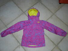 The North Face Fleece Hyvent Raincoat Wind Jacket Girls Small 7/8 Hoodie