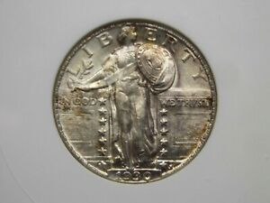 """1930 """"P"""" Standing Liberty Quarter 25c ANACS MS64 East Coast Coin & Collectables"""