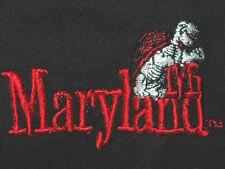 Vtg UNIVERSITY OF MARYLAND Shirt RARE Terrapins Terps RARE OLD LOGO  Basketball