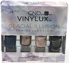 CND Vinylux Glacial Illusion Mini Gift Set New & Unused Weekly Nail Polish