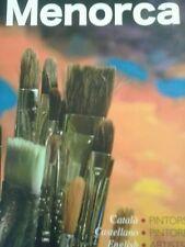 Spectaculaire Livre De Luxe Bouchon Rigide Menorca Peintres De Hui Neuf Livre