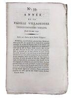 Achères IN 1791 Vaudes Alba Avignon Vaucluse Carpentras Rivoluzione Francese