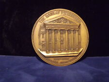 Bank of Pittsburgh Antique Commemorative Bronze Medallion/Coin shape (1810-1910)