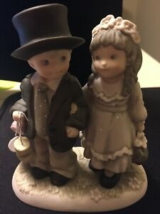 ENESCO Bride and Groom Children- Wedding Cake Top- 1996 Always and Forever