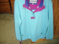 Tayberry Sweatshirt Turquoise  New no tags size 18