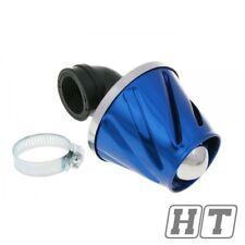 Filtro aria di alimentazione Helix blu 28-35mm per moto, scooter