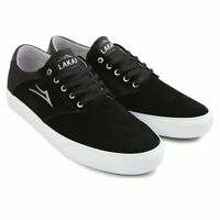 Lakai Shoes Porter Black Suede USA SIZE Skateboard Sneakers