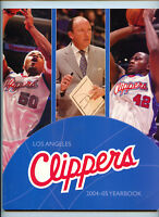 2004-2005 Los Angeles LA Clippers NBA Basketball Official Team Yearbook