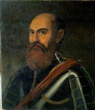 ANTIQUE 18TH CENTURY PORTRAIT OF A GENERAL