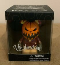 "New Disney Vinylmation 3"" Nightmare Before Christmas Pumpkin King Jack"