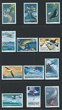 1973 Australian Antarctic Territory (AAT) Explorers/Food Chain Set MNH(SG 23-34)