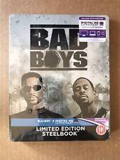 Bad Boys Steelbook Blu Ray New & Sealed Will Smith Martin Lawrence