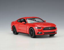 welly 1:24 Ford Mustang GT Diecast Metal Model Car Vehicle new in box Red