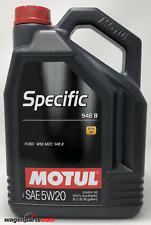 Aceite Motor Ford Acea A1 B1 Motul Specific 948B 5W20, 5 litros