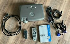 Dell 2300Mp Projector Home Movie or Office - Case Cable Remote Tested