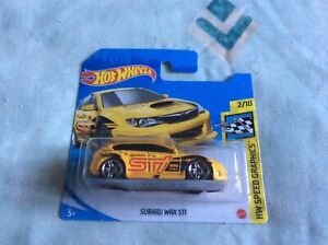 Hot Wheels Speed Graphics - Subaru WRX STi