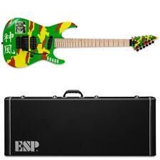 ESP LTD GL-KAMI4 KAMI-4 Graphic George Lynch Kamikaze Guitar + Case Kamikaze GL