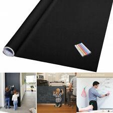 6.6Ft Large Blackboard Chalkboard Vinyl Wall Stickers Decal Writing Wallpaper