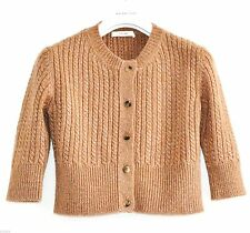 Women's Cashmere 3/4 Sleeve Crew Neck Jumpers & Cardigans
