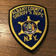 Albany County NY New York Sheriff Police Patch