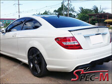 C63AMG Style Carbon Fiber Trunk Lip Spoiler For All 2012-2014 C-Coupe C250 C350