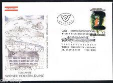 AUSTRIA 1 BUSTA PRIMO GIORNO FDC A. RAINER 1987