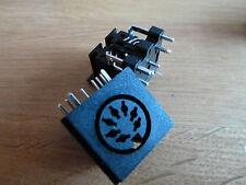 2 x 7 Pin DIN PCB Enchufes Audio (066)