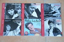 lot 6 CD édition Jacques Canetti : Leclerc, Reggiani, Fontaine, Vian, Migelin...