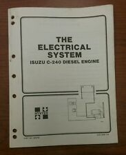 HYSTER THE ELECTRICAL SYSTEM S/H25-60XL, 899792