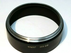 55mm Metal Lens Hood screw on type for 135mm f2.8 telephoto