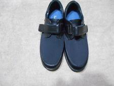 "Xsensible Netherlands ""Heidi"" Black Leather Stretchable Oxford Shoe 9 W"