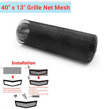 "1PC 40"" x 13"" Black Aluminum Cuttable Grille Net Mesh DIY Car Bumper Hood Vent"