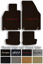 Lloyd Mats Ultimats 4pc Carpet Floor Mats for Porsche 911 - Choose Color & Logo