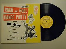 Bill Haley & His Comets R&R LP (SUMERSET  P-1300) Rock And Roll Dance Party VG+