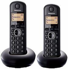 Panasonic KX-TGB212EB Telephone, Digital & Cordless, Twin Pack