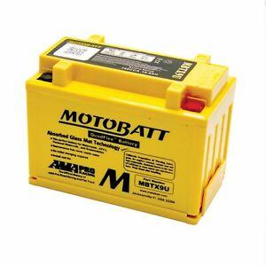Motobatt MBTX9U Motorcycle Battery Kawasaki Z 1000 10-14