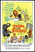 ZEBRA IN THE KITCHEN Movie POSTER 27x40 Jay North Martin Milner Andy Devine