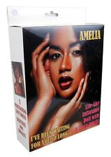 Bossoftoys - Amelia love doll - 150 cm - Black woman - Blowup doll - Triple h...