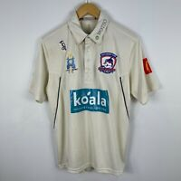 Easts Cricket Club Dolphins Cricket Shirt Mens Medium Short Sleeve Collared