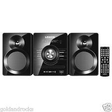 Mini Hi Fi Stereo Bluetooth Micro USB Music System FM Radio Remote CD DVD MP3
