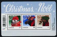 Canada 2879 MNH Christmas, Animals, Moose, Bear, Beaver