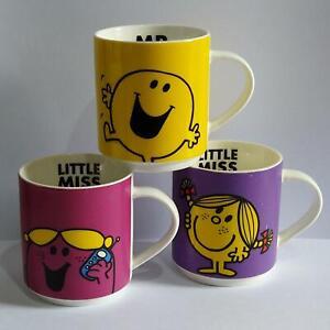Mr Men and Little Miss Mugs x 3 - Bell & Curfew - Bundle One - Please Read