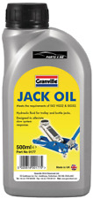Granville Jack Oil Hydraulic Fluid Trolley Bottle Compression Fluid 500ml
